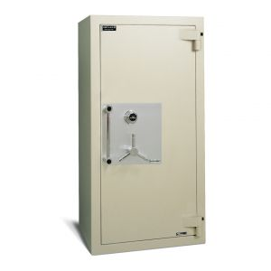 AMSEC AMVAULT CF7236 TL-30 Fire Rated Composite Safe is built to withstand the most sophisticated burglar attacks
