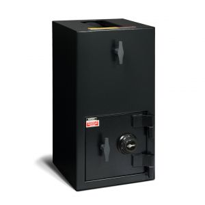 AMSEC DST2714 Top Load Hopper B-Rate Depository Safe with combination lock