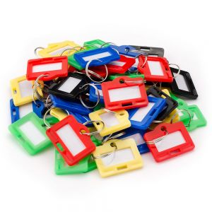 Barska Small Assorted Key Tags for Key Cabinets 50 pack