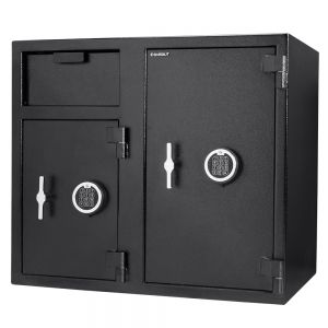 Barska AX13316 Dual Door Locker Depository Safe