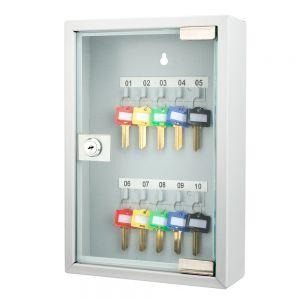 Barska 10 Position Key Cabinet with Glass Door