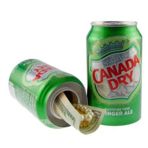 Covert Ginger Ale Can Safe