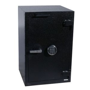 FireKing B3018WD-FK1SG40 B-Rate Drop Drawer Safe, angle closed