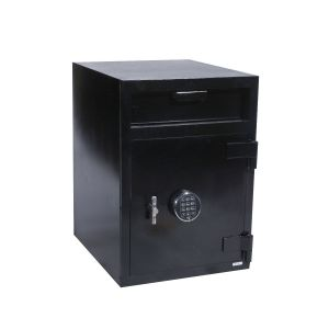 FireKing MB2720ICH-FK1 Depository Safe w/ Inner Locker, angle