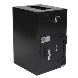 FireKing RH2012K-SG4440 B-Rate Rotary Hopper Deposit Safe, angle