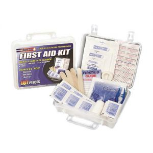 Rapid Care FA107 107 Piece First Aid Kit small image