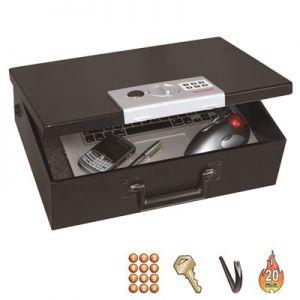 Honeywell 6110 Fire Resistant Steel Laptop Security Box w/ Programmable Digital Lock