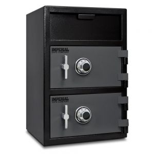 Imperial iDF40 Front Loading Dual Door Depository Safe