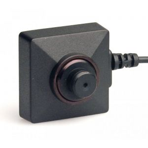 LawMate Covert Button & Screw Camera with 700TVL high resolution CCD sensor captures high quality color video