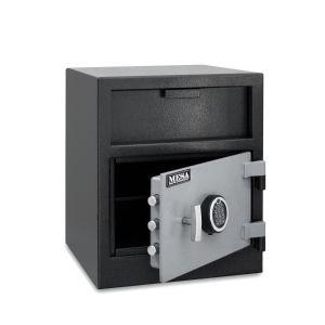 Mesa Safe MFL2118 Depository Safe shown with electronic keypad lock