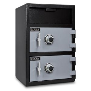 Mesa Safe MFL3020 Dual Door Depository Safe