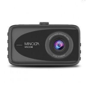 Minolta MNCD38 1080p Full HD Dash Camera front view