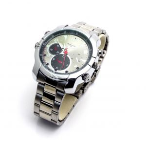MiniGadgets Silver Watch w/ Night Vision