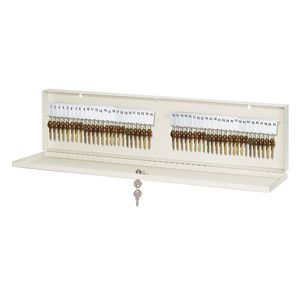 Master Lock 7123D 48-Count Heavy Duty Rekeyable Key Cabinet, Cream