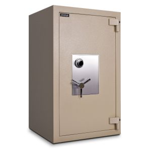 Mesa Safe MTLF4524 TL-30 Safe shown with UL listed Group II spy-proof combination lock