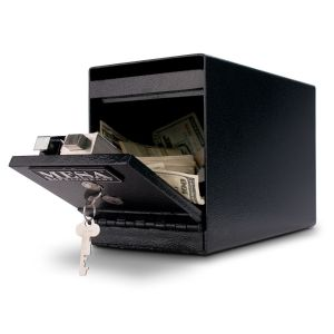 Mesa Safe MUC2K Undercounter Depository Safe anti-fish baffle prevents fishing from the deposit slot