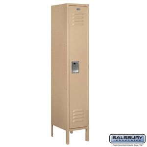 Salsbury 5' Standard Metal Locker, 15