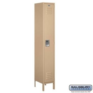 Salsbury 6' Standard Metal Locker, 15