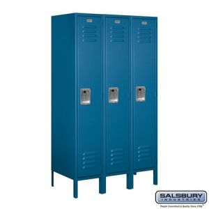 Salsbury 5' Standard Metal Locker, 18