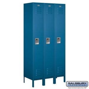 Salsbury 6' Standard Metal Locker, 18