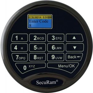 SecuRam ProLogic L22 Electronic Safe Lock Keypad