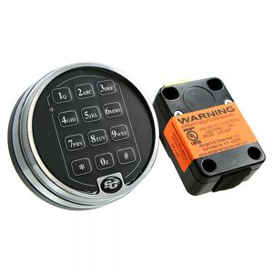 S&G 6123 Series Electronic Safe Lock Body
