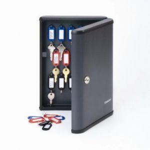 STEELMASTER Security Key Cabinet, 30-90 Keys