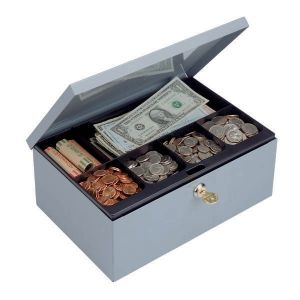 STEELMASTER Cash Box w/ Security Lock