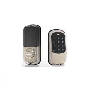 Yale Real Living Keyless Pushbutton Electronic Deadbolt w/ Z-Wave