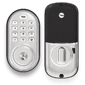 Yale Assure Pushbutton Electronic Deadbolt Lock w/ Bluetooth
