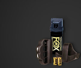 Browse all Self-Defense: Self-Defense Key Chains, Stun Guns & Tasers, Tactical Flashlights, Personal Alarms, Batons & Pepper Spray