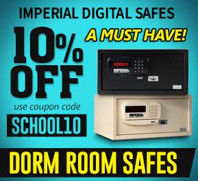 10% OFF Imperial iH Series Dorm Safes