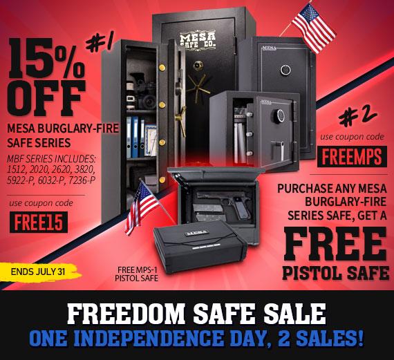 Independece Day Freedom Safe Sale